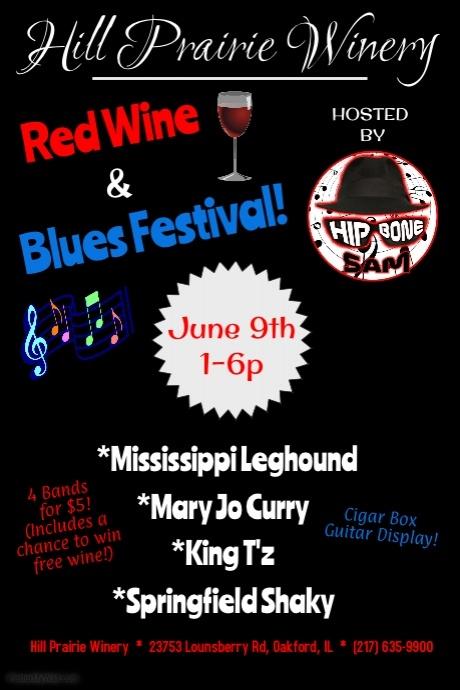 Red Wine & Blues Fest
