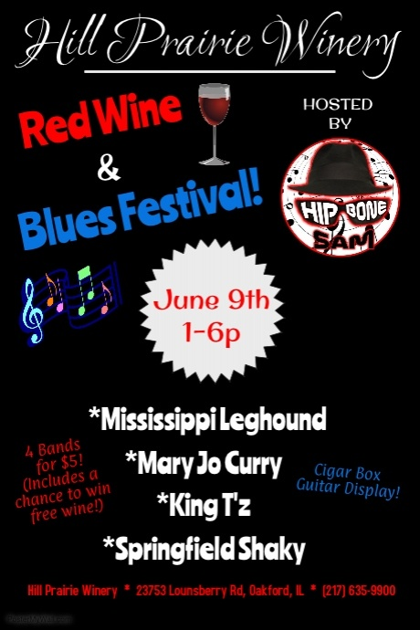 Red Wine & Blues Fest