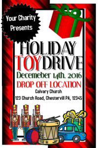 toy drive/toys for toys/ charity