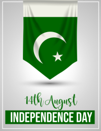 14th august, pakisatn independence day Flyer (US Letter) template