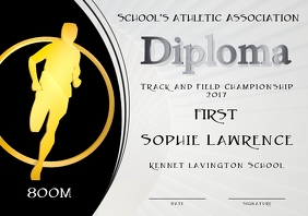 1500m diploma first