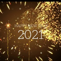 153 New Year Instagram Post template