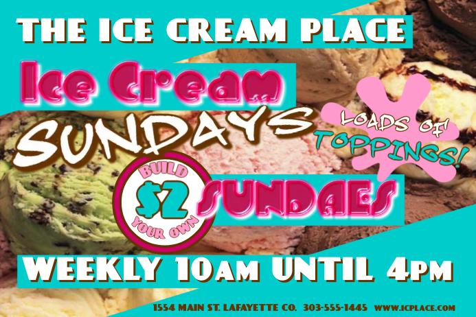 Ice Cream Sundays