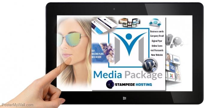 Tablet Stampede Hosting Media Package