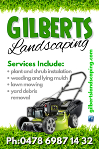 Landscaping Poster