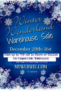 Winter Wonderland Warehouse Sale