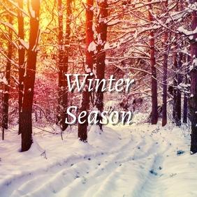 17 Winter Season Pos Instagram template