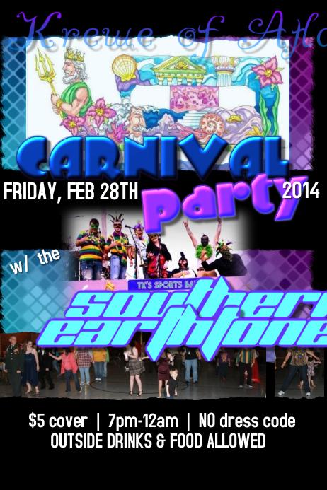 Mardi Gras Ball Masquerade Krewe Parade Sea Poseidon Neptune Mermaid Event