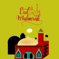 174 Eid Al Fitr Instagram Post template