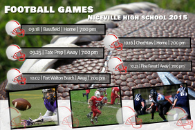 Football games schedule