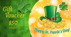 ST. Patrick's Day Gift Voucher