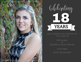 18th Birthday Party Event