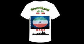18th May Somaliland Tshirt Facebook-Anzeige template