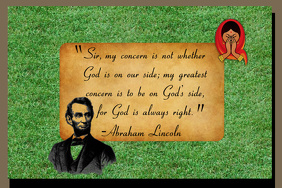 Abrahan Lincoln Quotes