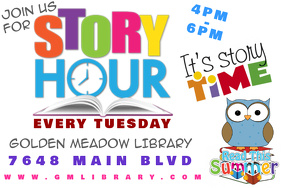 Story Hour Educational Reading Library Summer School Learning Event Children Kids