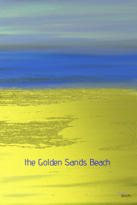 Golden Sands on the Beach @ postermywall