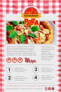 Restaurant Newsletter Design Template