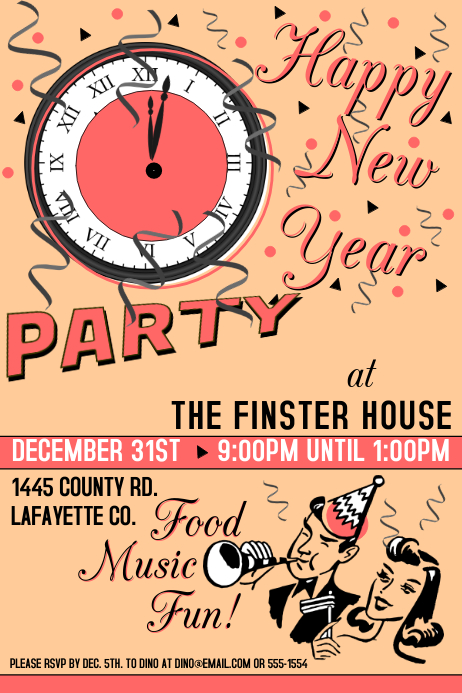 Vintage New Year Party