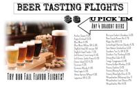 Beer Tasting Flights
