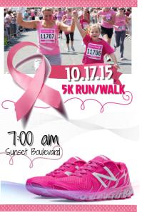 Cancer race flyer