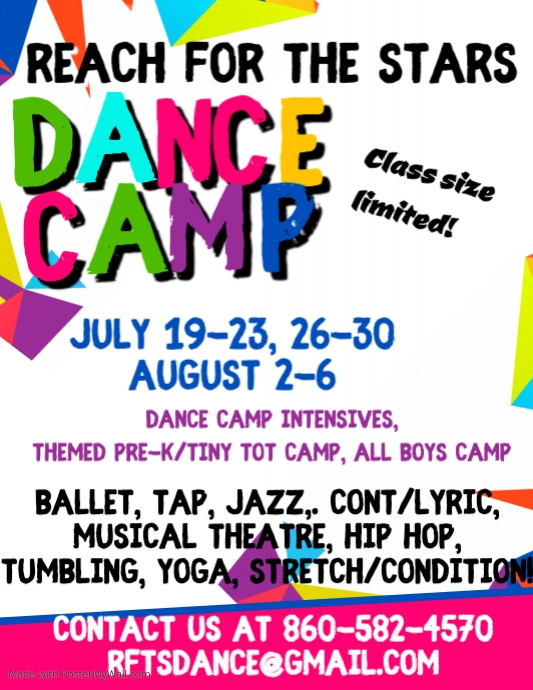 Copy of Summer Camp Flyer