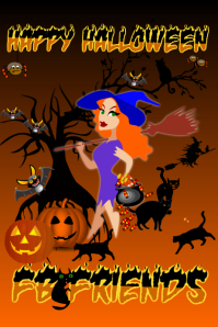 Halloween Poster for Facebook