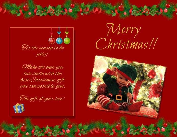 Christmas Flyer (Letter pang-US) template