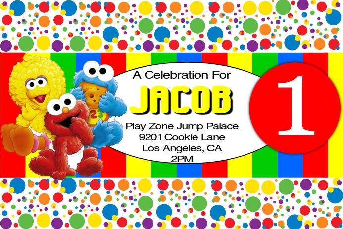 1st Birthday Party Invitation