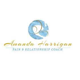 2 Aqua Pain and Relationship Coach Logo template