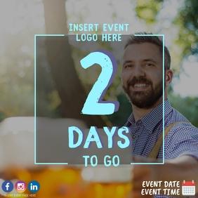2 Days to Oktoberfest Event Countdown