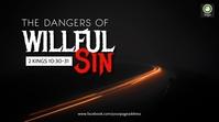2 Kings sermon series Digital Display (16:9) template