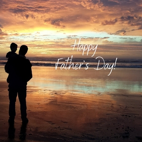 20 Fathers Day Сообщение Instagram template