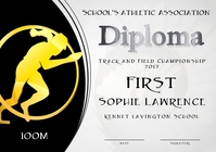 200m diploma first
