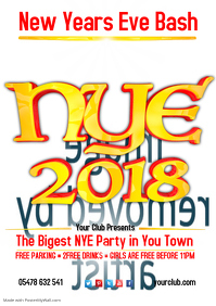 2017 New Years Eve Poster