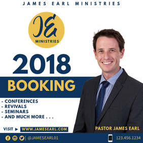 2018 Booking