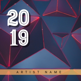2019 Album Art 5 template