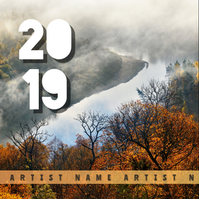 2019 Album Art template