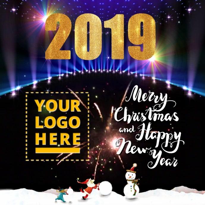 2019 Christmas & New Year Greeting