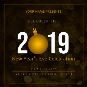 2019 New Years Celebration