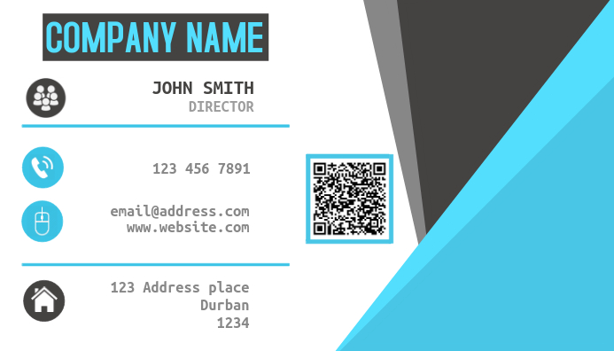 2019 Sleek Business Card