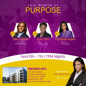 2019 Women of Purpose