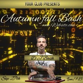 2020 autumn fall bash event TEMPLATE
