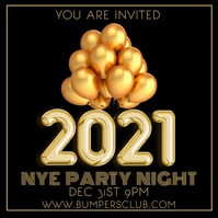 2021 New Years Party Night Video Template Pos Instagram