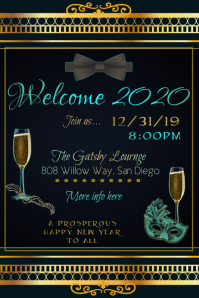 2020 Party Poster