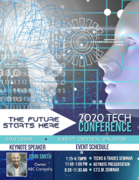 2020 Tech Conference - Two faces