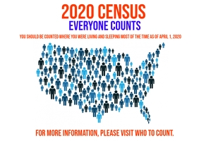 2020 United States Census information Ikhadi leposi template