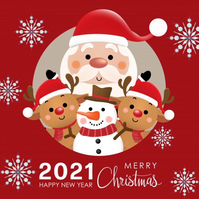 When Is Christmas 2021 2021 Christmas Template Postermywall
