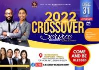 2021 crossover 明信片 template