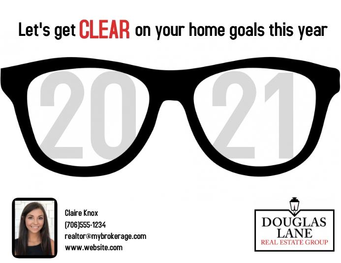 2021 Home Goals Folder (US Letter) template