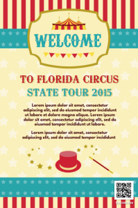 Circus poster / Circus flyers template